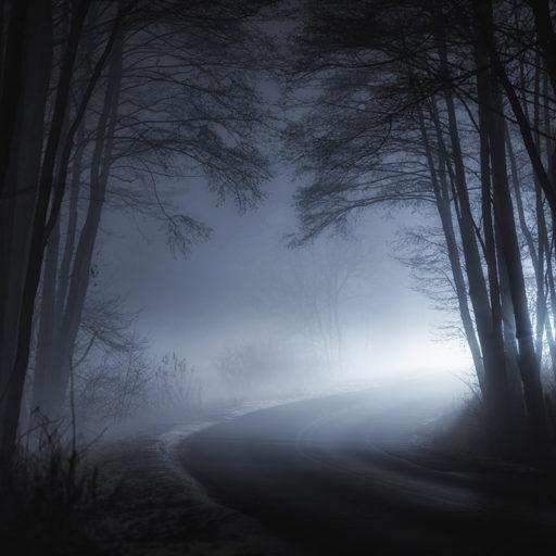Zakręt za mgłą